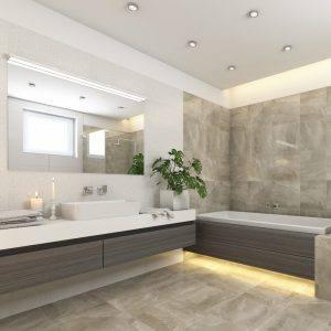 ansprechendes Badezimmer