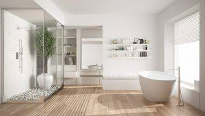 Schickes Badezimmer